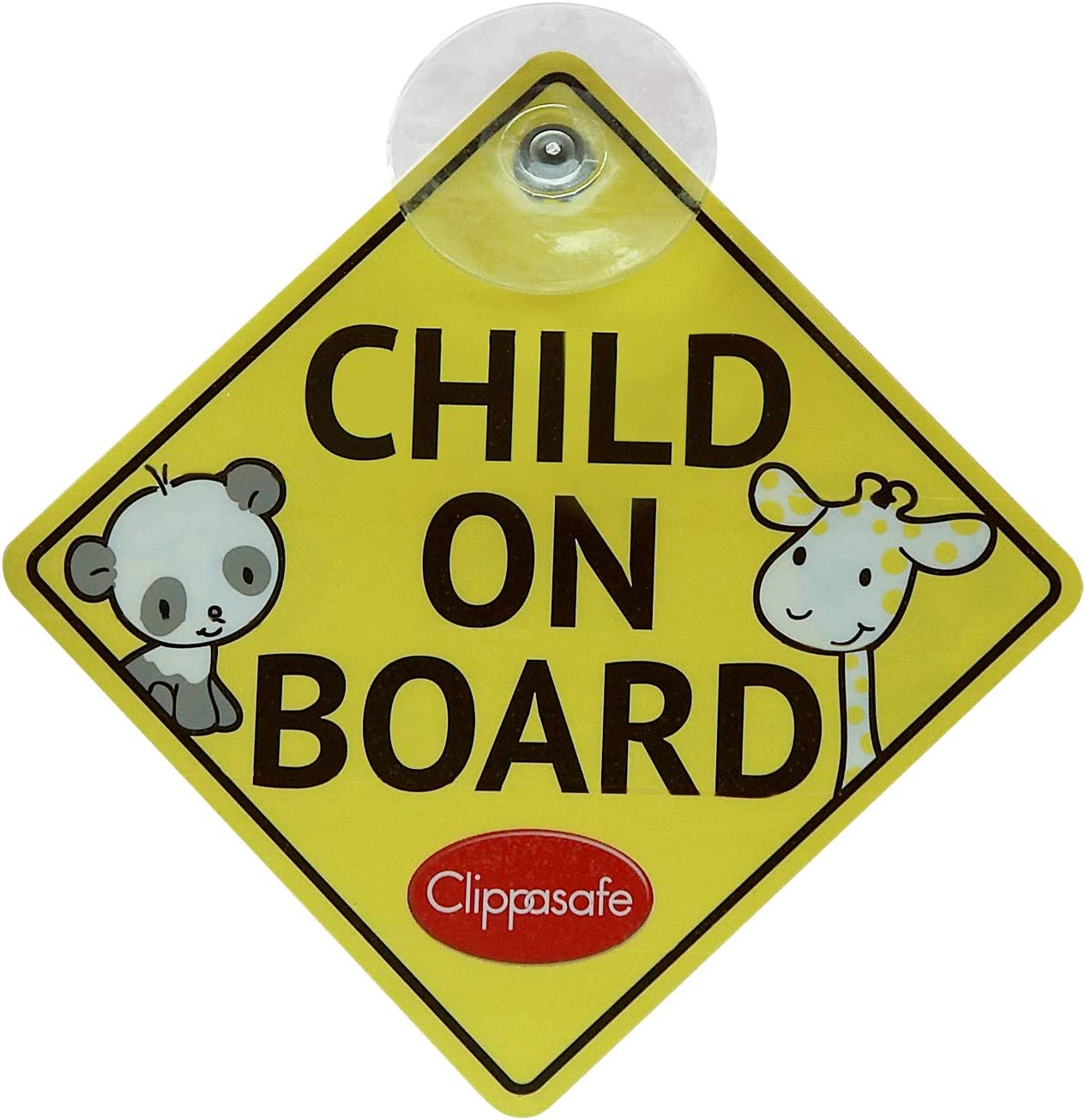Suction Cup Car Window Sign Baby Koala On Board Sign Baby On Board Sign