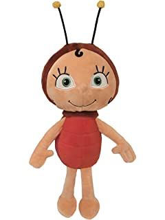 Plüschfigur Die Biene Maja Plüsch Max Regenwurm Stofftier Kinder Spielzeug Weich