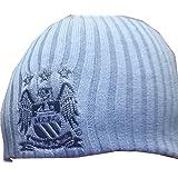 Man City Reversible Beanie Hat  Amazon.co.uk  Sports   Outdoors cc752562bc9