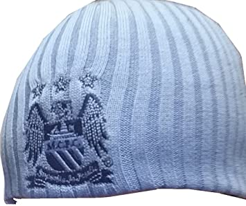 Manchester City Beanie Hats  Amazon.co.uk  Sports   Outdoors 9ac4ef569f