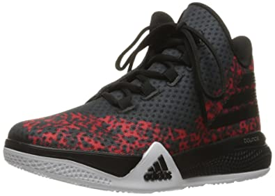 buy online 2ef06 60d41 ... wholesale adidas performance mens light em up 2 basketball shoesblack  white scarlet 73399 fcff5
