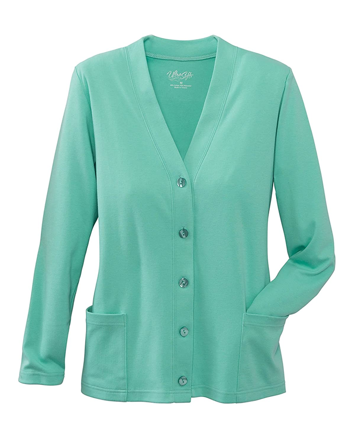 UltraSofts UltraSofts Button-Front Knit Cardigan at Amazon Women's ...