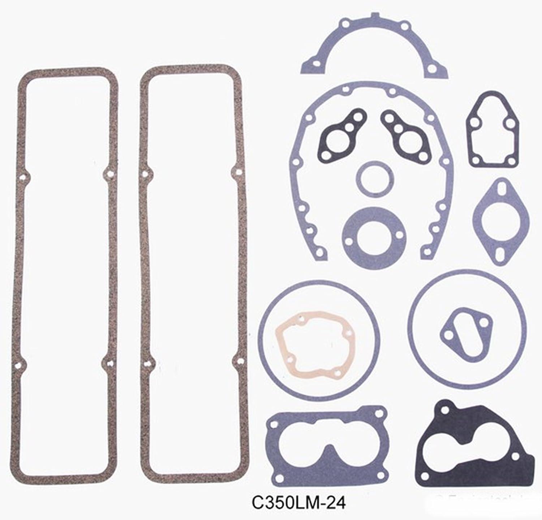 Engine Rebuild Overhaul Kit FITS 1993-1995 Chevrolet SBC GM 350 5.7L OHV V8 w//Flat-Top Pistons