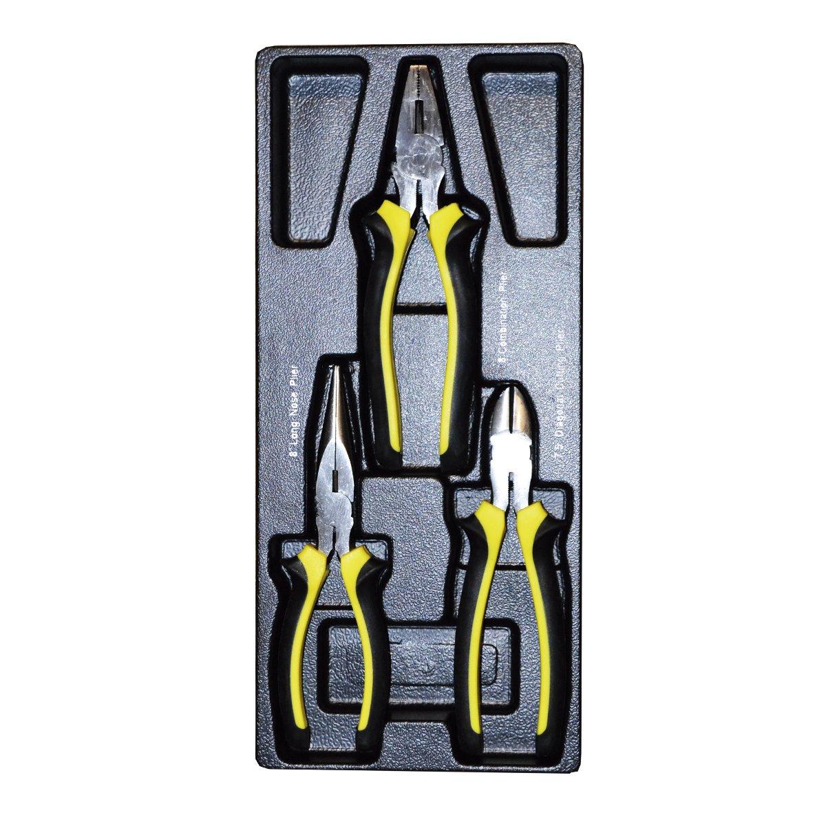 JBM 10679 Módulo 3 alicates para carro de herramientas: Amazon.es: Bricolaje y herramientas