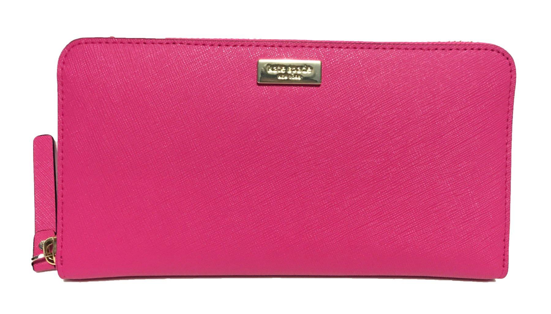 Kate Spade Newbury Lane Neda Leather Wallet (Radish)