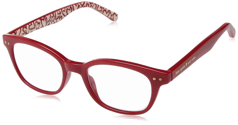 d4b546ca4631c Amazon.com  Kate Spade Women s Rebecca2 Rectangular Reading Glasses ...