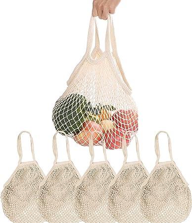 Respetuoso con el medio ambiente: reemplace sus bolsas de papel y plástico con estas bolsas reutiliz