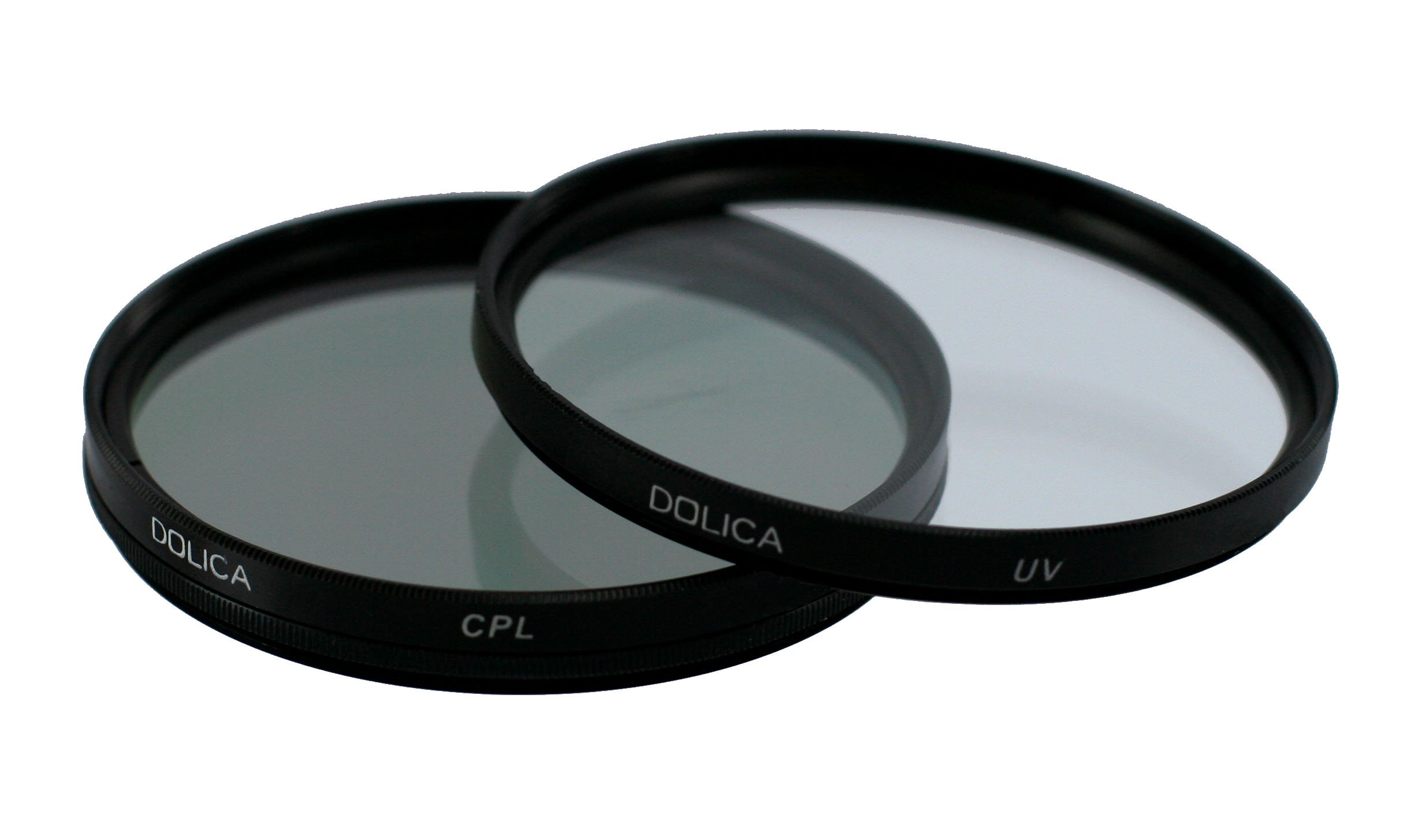 Dolica CF-K77 77mm UV and CPL Filter Kit