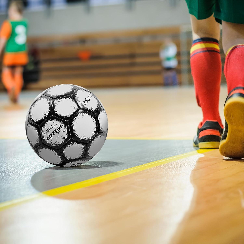 GoSports Bomba de balón de fútbol Sala, con Premium - Reglamento ...