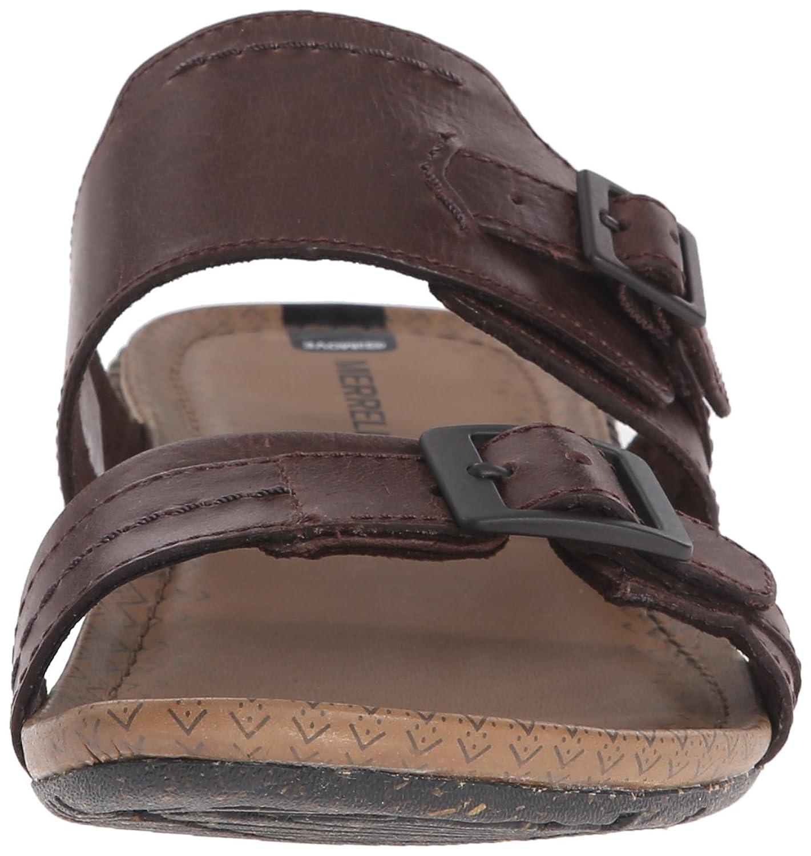 check out 19e81 885e2 Sandalia de diapositivas Slide de Merrell para mujer marrón