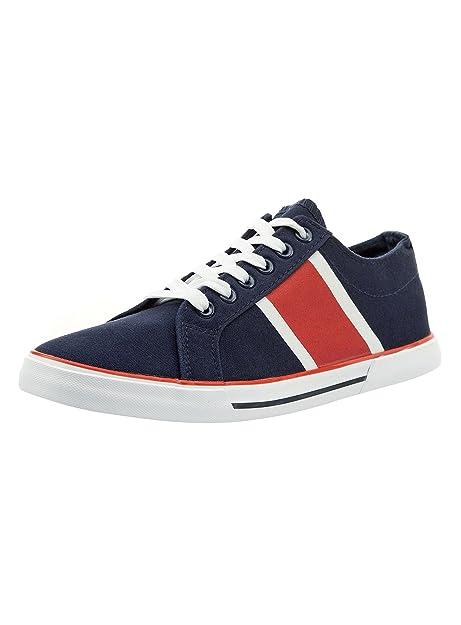 Oodji Chaussures En Cuir Synthétique Ultra Homme, Bleu, 44 Eu / 10 Royaume-uni