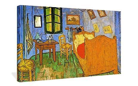 Amazon.com: Spirit Up Art The Bedroom by Vincent Van Gogh Oil ...