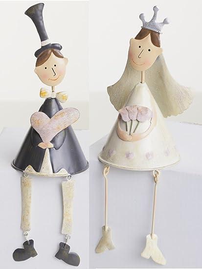 Cake Company – Decoración de mesa Par novia boda con peluche (patas, aprox.