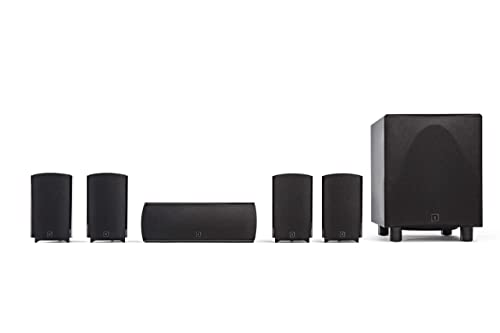 Definitive Technology ProCinema 6D - Compact 5.1 Channel Home Theater Speaker System
