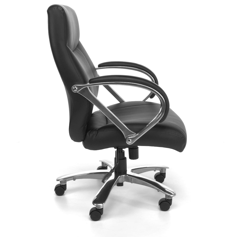 "Amazon Big and Tall fice Chairs ""Zeus"" 500 lb Capacity"