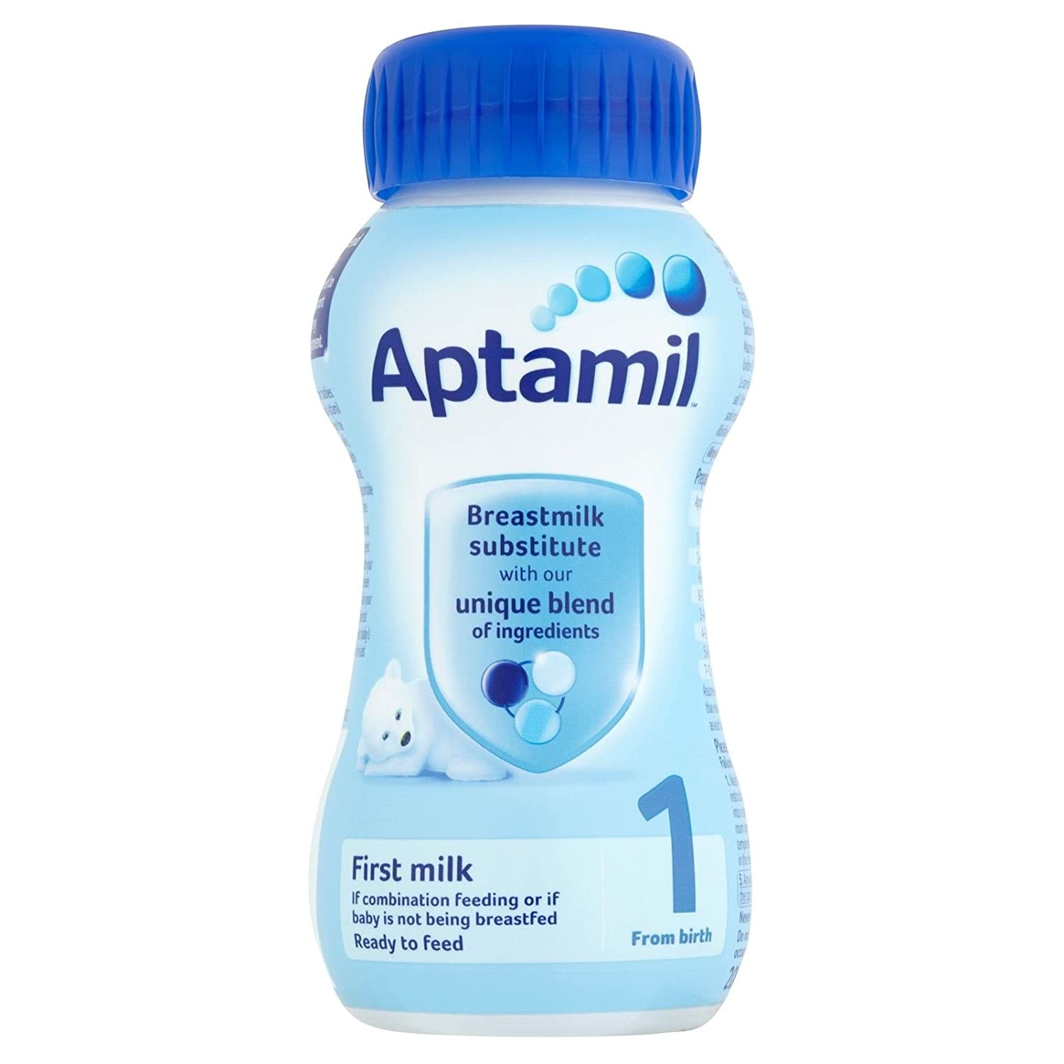 Aptamil 1 First Milk Ready to Feed from Birth 200ml (Pack of 15)
