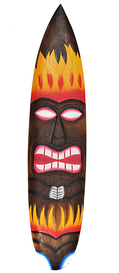 Surf 100 cm Deko Tiki Hawaii Tabla de Surf Tiki Bar 40263 Surfer