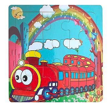 Amazon.com: Roysberry Toys – 9 piezas de puzzles de madera ...