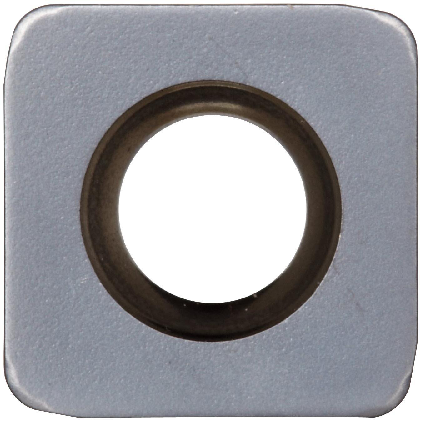 TiAlN Coating R210090414EPM,0.177 Thick Sandvik Coromant COROMILL Carbide Milling Insert 0.055 Corner Radius GC1010 Grade Square R210 Style Pack of 10