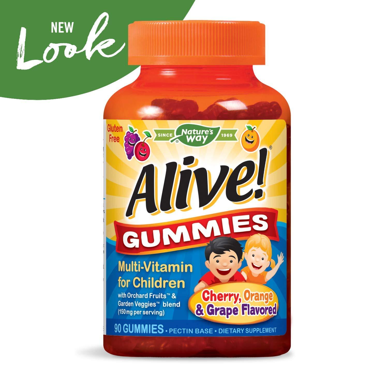 Nature s Way Alive. Premium Gummies para los niños: Amazon.es: Salud y cuidado personal