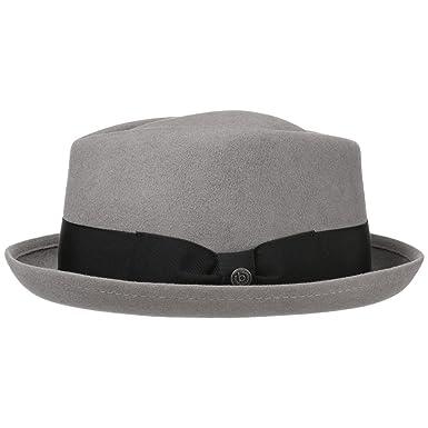 bcc81b499cf bugatti Reighsbury Porkpie Hat Wool hat Men ´s hat (61 cm - Grey)   Amazon.co.uk  Clothing