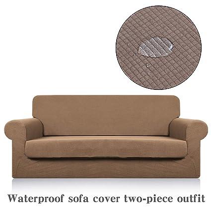 Lu Impermeable sofá Slipcovers Grueso Jacquard sofá ...