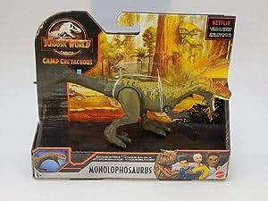 NEW SEALED 2021 Jurassic Park Camp Cretaceous Monolophosaurus Action Figure