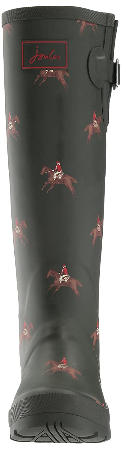 Joules Women's Welly 5 Print Rain Boot B01N3LW4G7 5 Welly B(M) US|Olive Horse Rider 89e1b2