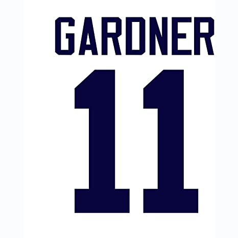 Brett Gardner New York Yankees Jersey Number Kit e0b9daeb260