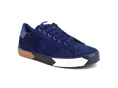 d8b86f8d305 Ripley Nix Series Suede Blue Casual Shoes  Buy Online at Low Prices in  India - Amazon.in