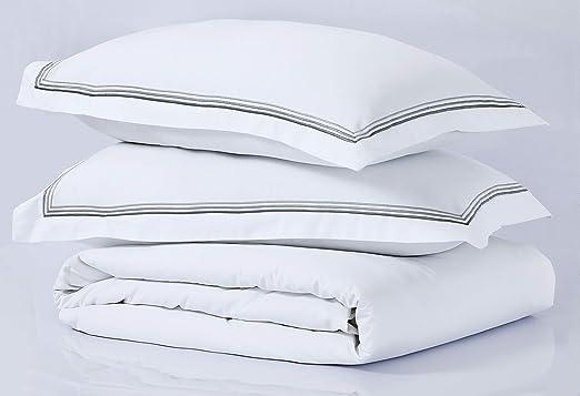 Linen Zone - Sábana de algodón egipcio, 400 hilos, algodón ...