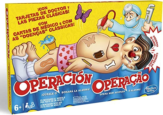 Hasbro Gaming B2176B09, Juego de Mesa Operación, Versión Española ...