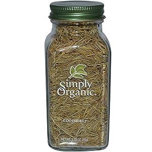 Simply Organic, Rosemary, 1.23 oz (35 g) - 2pcs