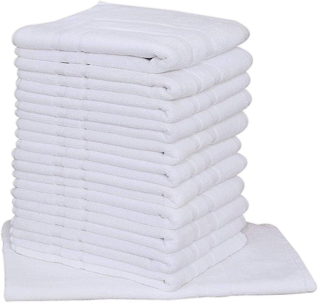lot of 12 new beige ultra soft hotel bath mats 7# 20x30