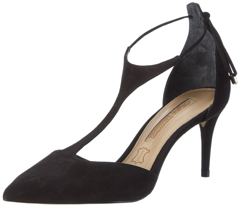 Buffalo London Women's Zs 7449 16 Nobuck T Bar Pumps: Shoes