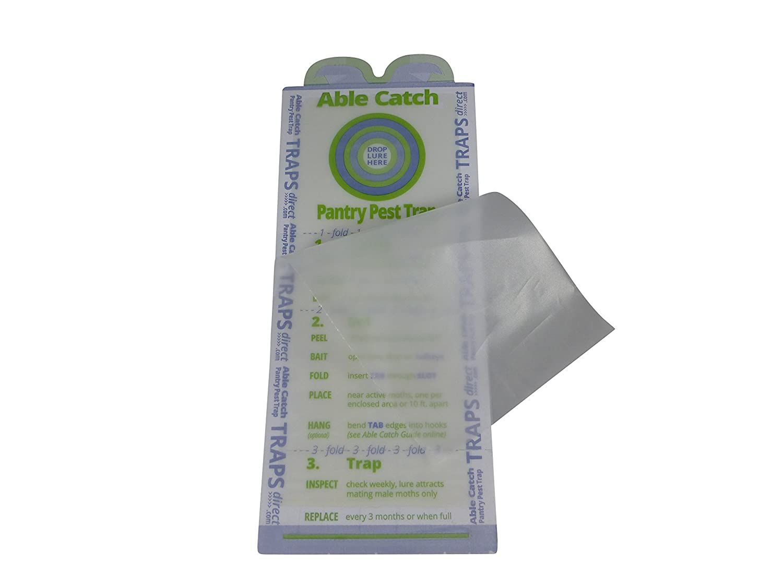 Amazon.com : 20 Pantry Moth Traps - Pheromone Lure, USA Made, Safe ...