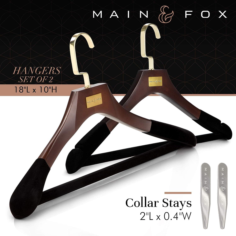 Amazon.com: Main & Fox - Perchas para abrigo, ropa y armario ...