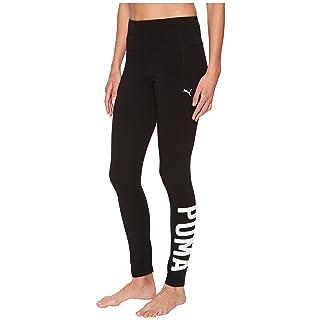 PUMA Women's Swagger Leggings, Black White, XXL
