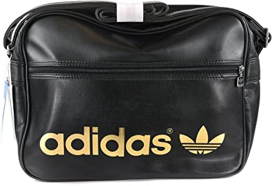 adidas Sacoche Bandouliere Airline Noir Or
