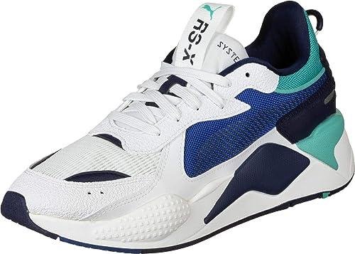PUMA Herren Sneaker RS X Hard Drive blau (51) 44: