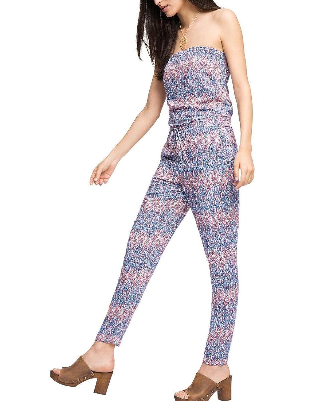 ESPRIT Damen Jumpsuits 056ee1l009-mit Allover-Druck