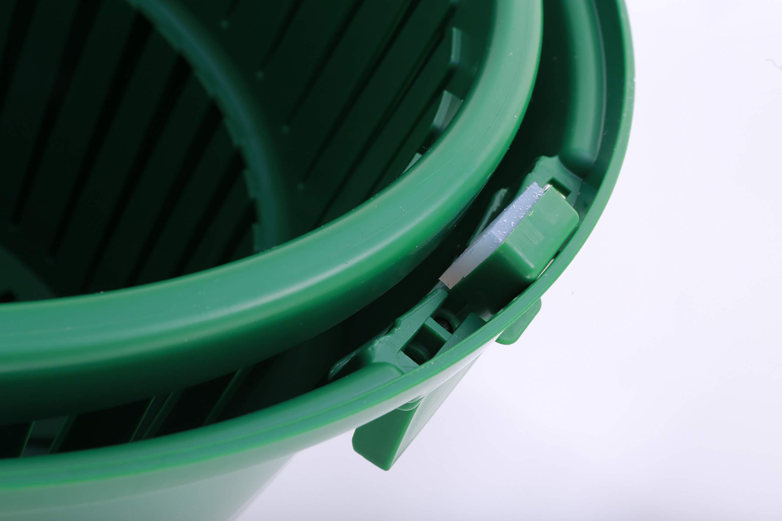 Hakka 20 Liter/5 Gallon Large Commercial Manual Salad Spinner&Dryer by HAKKA FOOD PROCESSING (Image #5)
