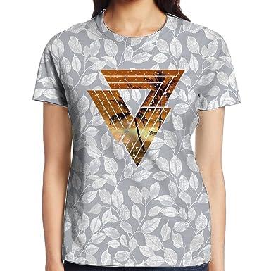 Guess Giles Hawaii Short Sleeve Gift Flower Rock Tshirts Young Women