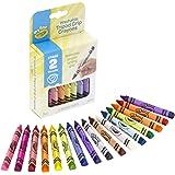 Crayola 811461 My First Tripod Grip Washable Crayons (16 Piece)