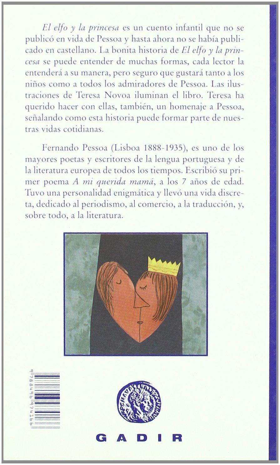 el elfo y la princesa spanish edition fernando pessoa amazoncom books