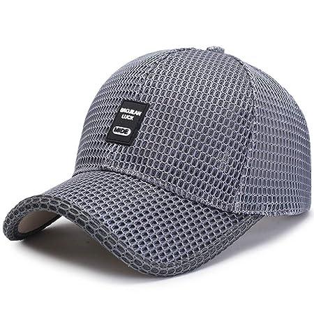 woyaochudan Sombrero de Verano para Hombres, Gorra de béisbol para ...