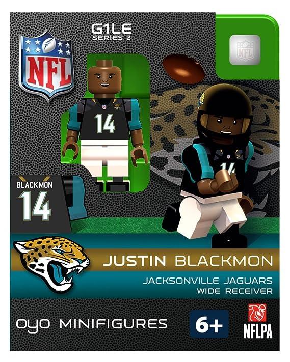 JACKSONVILLE JAGUARS JUSTIN BLACKMON NFL OYO FOOTBALL MINI FIGURE LEGO