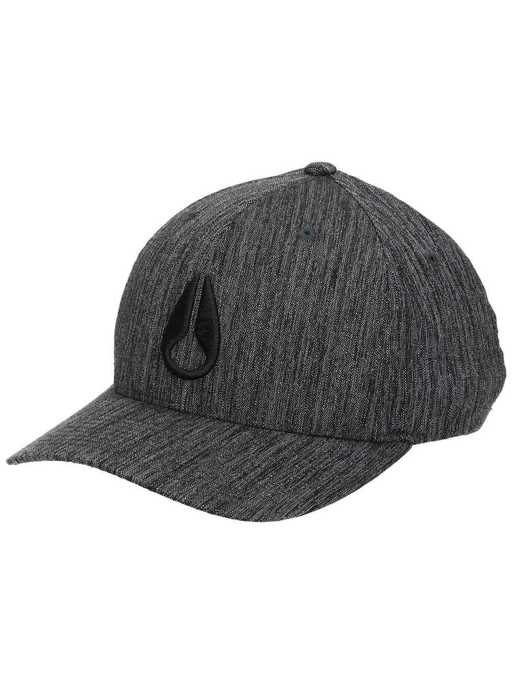 Nixon Deep Down Athletic Textured Hat -Spring 2017- Black Woven: Amazon.es: Deportes y aire libre