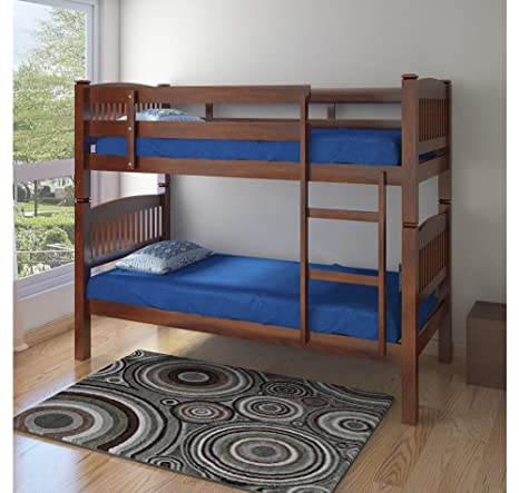 Home By Nilkamal Dom Single Size Bunk Bed Cappuccino Amazon In