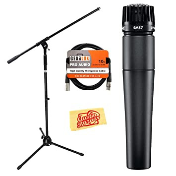 Shure SM57 Mic with Cable & Stand (Standard): Amazon ca